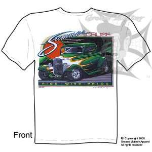 Size Large, Summer Cruise, 1932 Ford Coupe, Hot Rod T