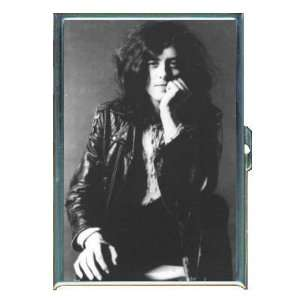 JIMMY PAGE OF LED ZEPPELIN ID Holder, Cigarette Case or Wallet Made