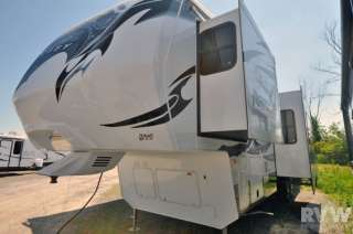 New 2012 Raptor Fifth Wheel 300MP Toy Hauler Camper by Keystone RV at
